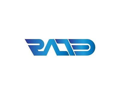 Rated logo branding logo