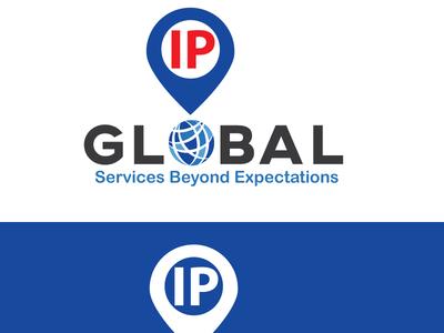 IPG new Logo typography minimal logo design branding