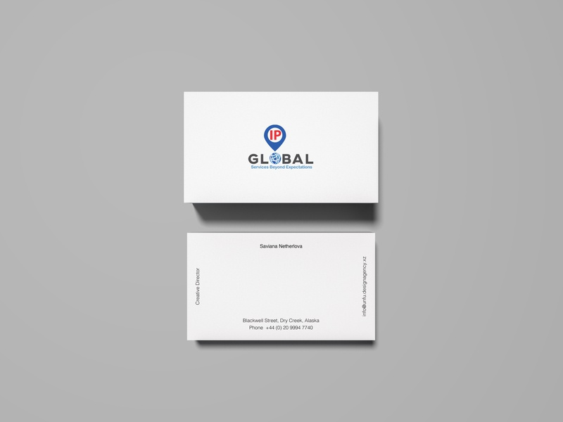 Business Card IPG ui ux type illustrator flat vector typography minimal logo design branding