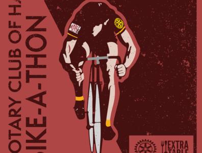 ROTARY POSTER  RED 11X17 art website illustrator vector branding web logo illustration design