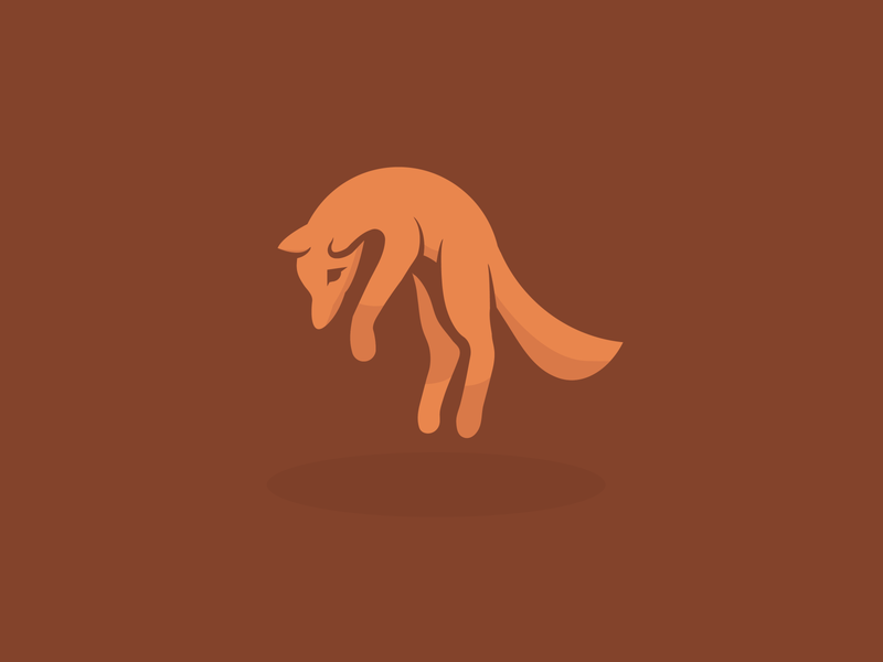 Fox Logo fox illustration vector design logo dailylogochallenge
