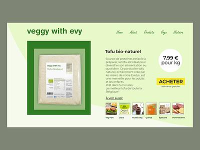 #12 Daily Ui / Single Product e-commerce product page product e-commerce shop e-commerce web vegetable veggies vegan ux ui