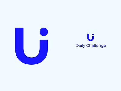 #52 DailyUi / Daily Ui Logo vector minimalist logo logos logotypes logotypedesign daily ui 52 dailyui 052 dailyuichallenge daily ui logo designer logo design logotype logo app ui ux