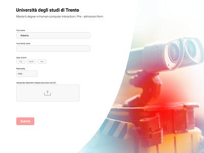 #82 Daily Ui / Form dailyui 82 website form design form field form web design ui ux