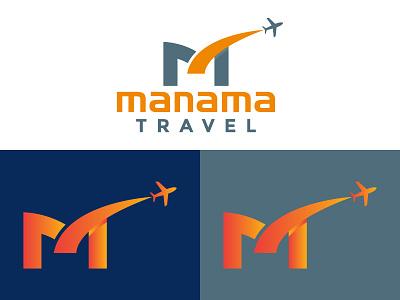 Travel Logo / Modern Logo / Logo Design flat illustration ui travel app travel logo iconic logo 3d logo app logo minimalist logo design branding