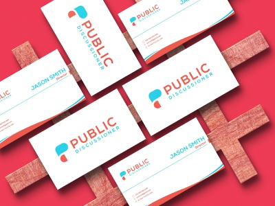 Public Discussioner logo/ Modern Logo/ Logo design modern logo vector iconic logo graphic design app logo minimalist logo logo design branding