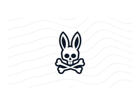 Spring 19 - Store screen videos spring bunny branding store screen skull after effect fashion animation video