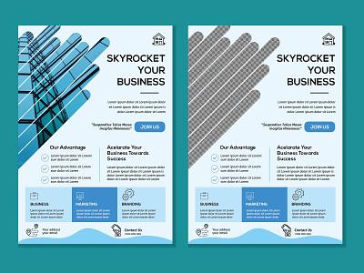 Corporate Flyer Design website ux flat things minimal vector icon design branding illustration