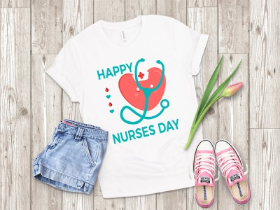 Nurse T shirt Bundle design illustration tshirt animation things christmas logo branding typography minimal