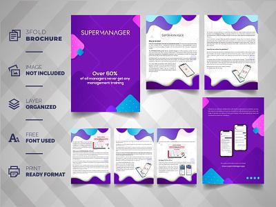 Business Brochure Profile ux ui design logo things illustration typography vector branding minimal