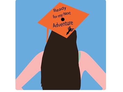 Ready for my next adventure illustrator design illustration
