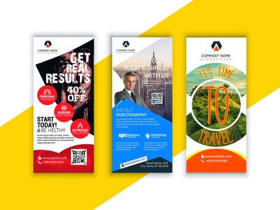 Roll Up Banner popup free rollup print ready corporet rollup roll up banner design roll-up banner rollup