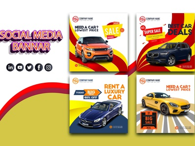 Social Media Post Template add-on ecommerce tamplate instragram facebook social media design socialmedia banner add