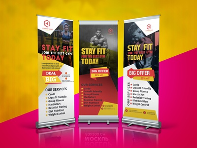 Roll Up Banner rollup banner design popup rollup banner design banner ad banner pop up banner rollup