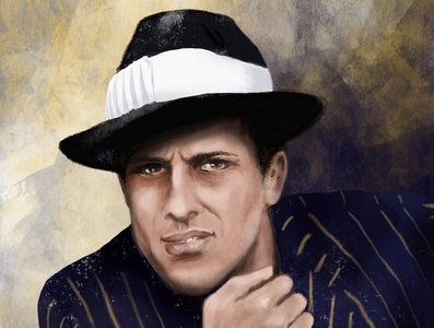 Adriano celentano digital portrait digital illustration portrait illustration portrait drawing illustration