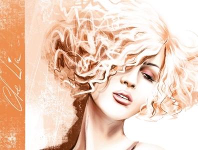 Just a portrait digital art woman portrait woman girl portrait girl illustration portrait fashion illustration drawing