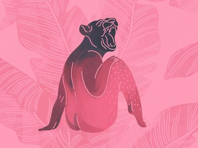 lioness procreate digital art digital painting art illustration