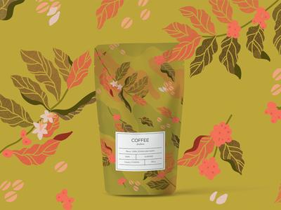 coffee packaging design packaging design packaging adobe illustrator procreate design graphic design graphic art digital art