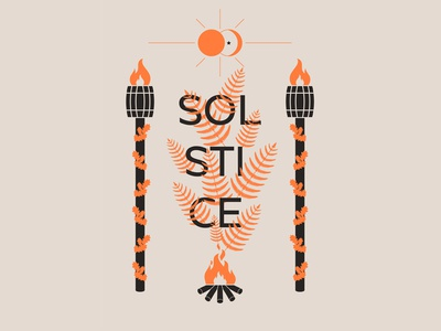 summer solstice poster design poster digital design illustration design graphic design graphic art digital art