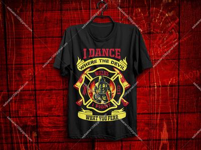 Best Selling Firefighter T-Shirt design print on demand pod illustration merch by amazon sunfrog teee firefighter ui logo tshirt tee bulk fashion unique typography design