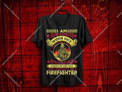 Best Selling Firefighter T-Shirt design firefighter sunfrog teespring redbubble print on demand pod printful merch by amazon ui logo illustration tshirt tee fashion bulk unique typography design
