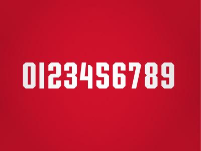 Radford Highlanders Numbers numers uniform redford highlander athletic sports college