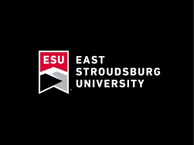 East Stroudsburg University pennsylvania pocono academia university banner mountains