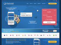 Currency exchange web design