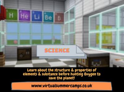 Virtual Summer Camps Science Video Design website art web visual ux ui minimal design branding app