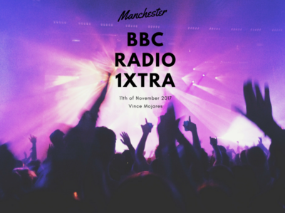BBC Radio 1Xtra Concert Film Thumbnail thumbnail music concert typography poster art visual minimal design branding