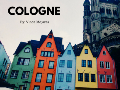 Cologne Travel Film Thumbnail film videography thumbnail travel typography poster art visual minimal design branding