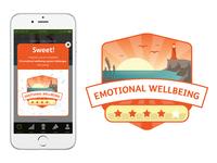 Wellness App Badge