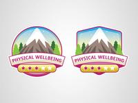 Welness App Badges