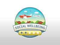 Wellness App Badge