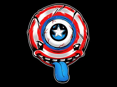 Third Eye Captian America