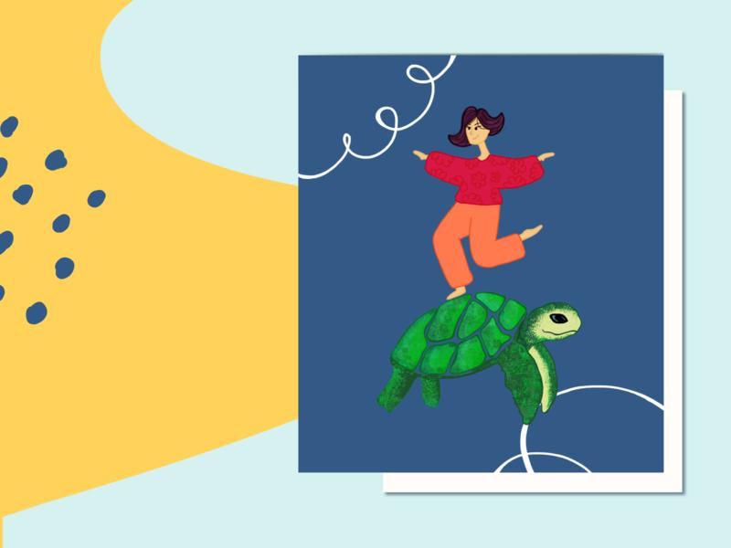 • voy al mar • digital illustration digitalart personajes infant dibujo ilustración ilustrator branding vector design illustration