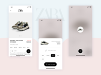 Daily Ui Challenge  #012 - E-Commerce Shop