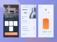 Daily UI Challenge #015 - On/Off Switch (Smart home app)