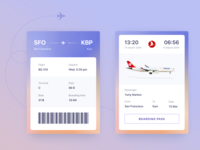 Boarding Pass - Daily Ui Challenge #024