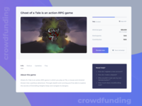 Crowdfunding Campaign - Daily Ui #032