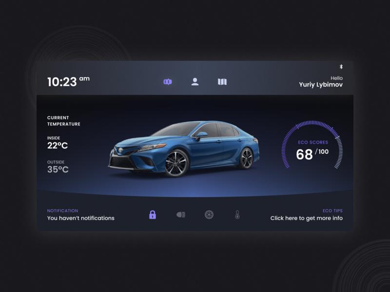 Daily Ui Challenge #034 - Car Interface dailyui034 auto car interface car ui car vector design ui daily ui challenge dailyui challenge dailyui