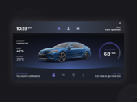 Daily Ui Challenge #034 - Car Interface