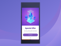 Daily Ui #36 - Special Offer