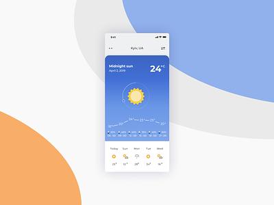 Daily Ui Challenge #037 - Weather temperature sun weather app weather app mobile app dailyui037 design ui daily ui challenge dailyui challenge dailyui