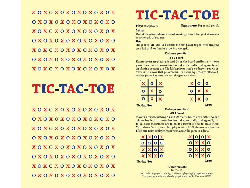 Tic-Tac-Toe Instructions