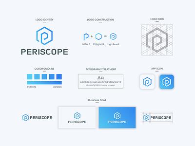 Periscope Logo Design app branding