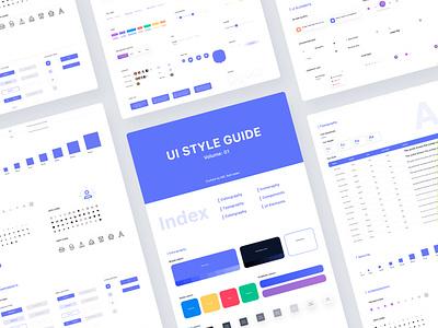 User Interface Design Style Guideline. user interface web design ux research ui design style guide design system