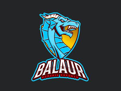 Balaur 2.0 esport esportslogo gaming esports vector design logo