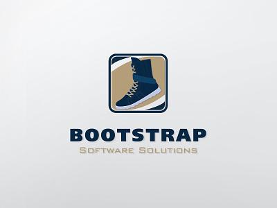 Bootstrap Proposal logo technology tech software it boot designhill proposal wip