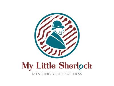 My Little Sherlock - Logo design for AI Service idburlacu forhire graphicdesigner metahumandesign artwork artist concept vector graphics logos design logo